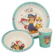 Paw Patrol Chase, ECO Bamboo, Dinner, 3 osaa