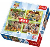 Toy Story palapeli 4, 4 in 1
