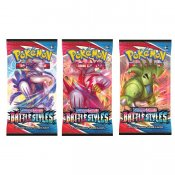 3-pack Pokemon Sword & Shield Battlestyles Booster keräilykortit