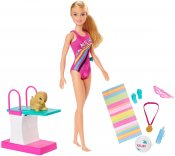 Barbie Dreamhouse Adventures Doll Swim 'n Dive