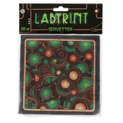 Labyrint Servetter 20-pack