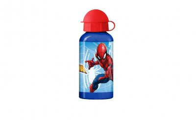 Spiderman vesipullo alumiini, 400 ml